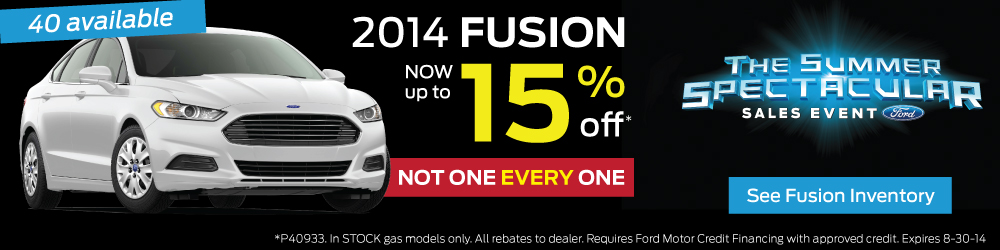 2014 ford fusion at stiver sfsord lincoln now up to 15% off. not one every one! see ford fusion inventory here. Visit Stivers ford lincoln on the waukee side of west des moines for brand new 2014 ford fusions