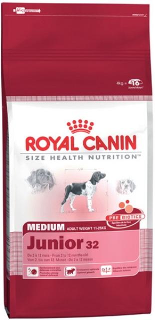royal canin medium junior 4kg. Black Bedroom Furniture Sets. Home Design Ideas